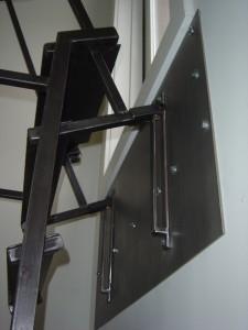 RRA ladder closed